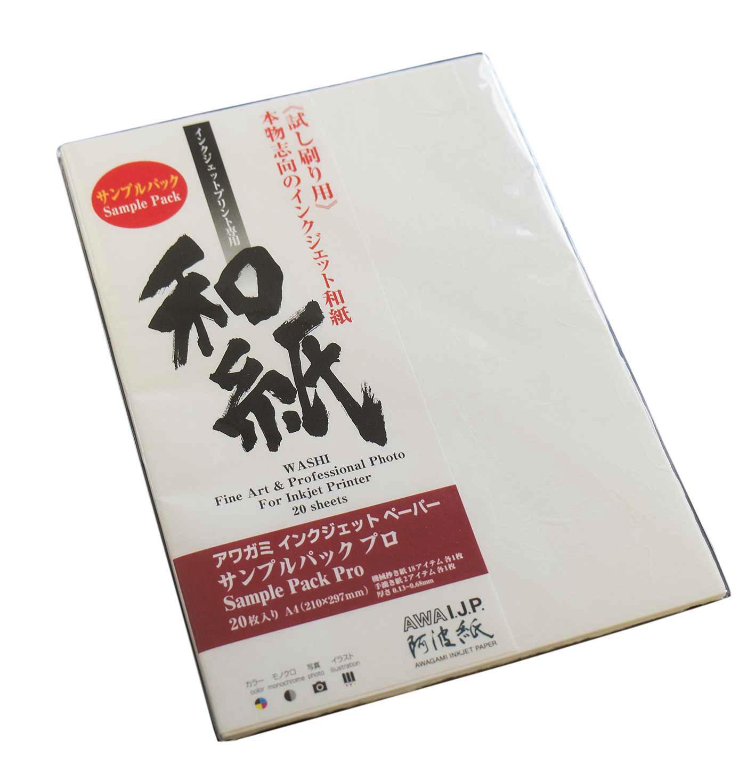 Echantillons Papier Awagami