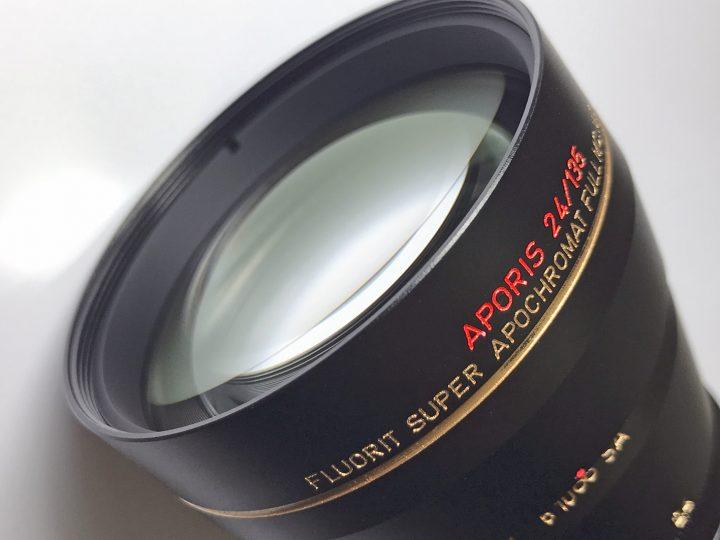 MS Optics Aporis 135mm f/2.4 Fluorit Apochromat MC