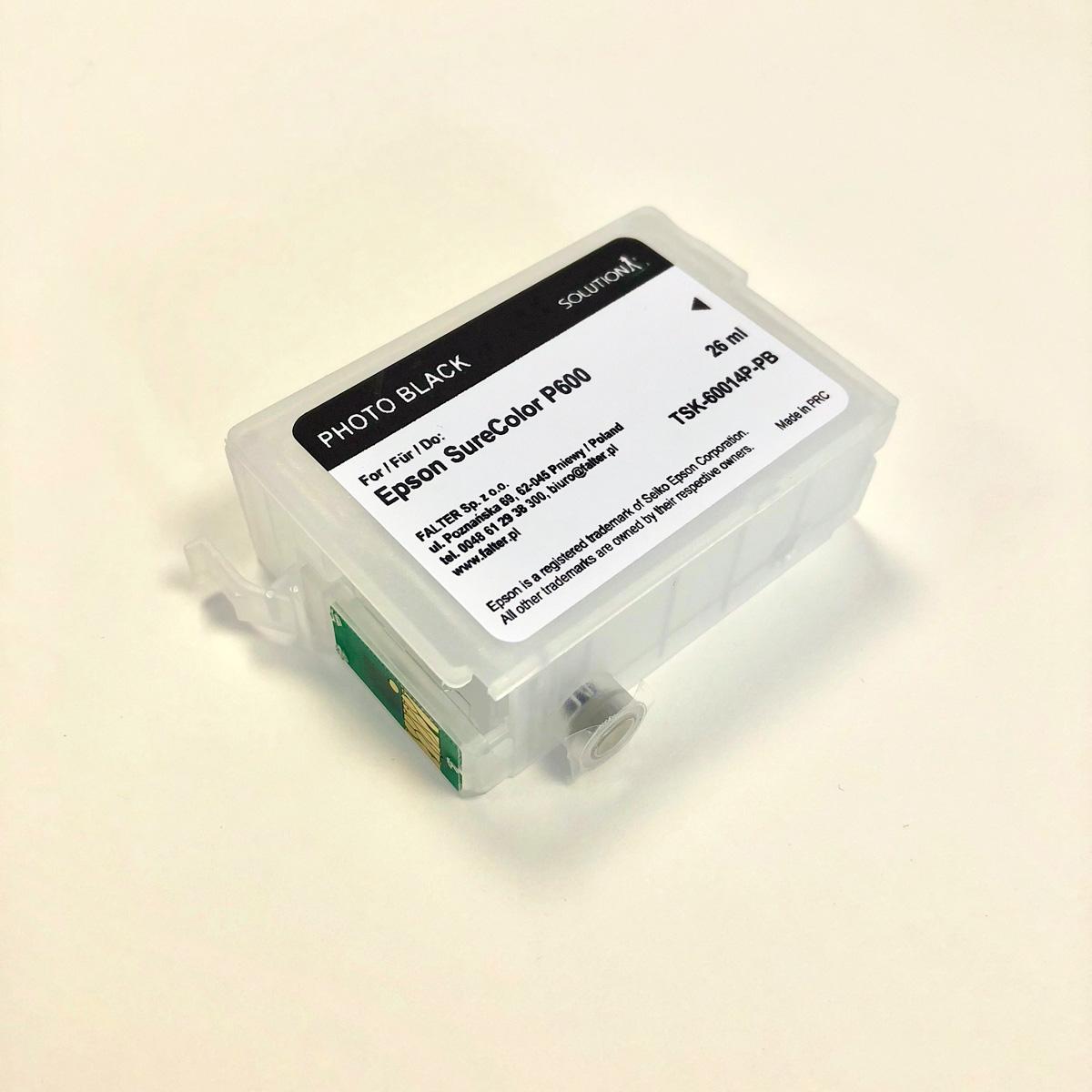 Refillable cartridges for Epson SC-P600